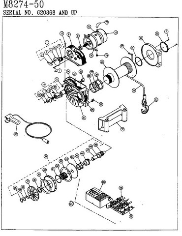 Warn 8274 Diagram